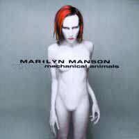 [Marilyn Manson Mechanical Animals Album Cover]