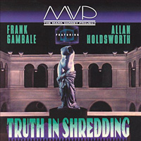 [Mark Varney Project Truth in Shredding Album Cover]