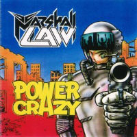 Marshall Law Power Crazy EP. Album Cover
