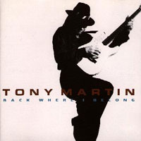 Tony Martin Back Where I Belong Album Cover