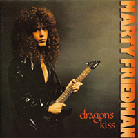 [Marty Friedman Dragon's Kiss Album Cover]