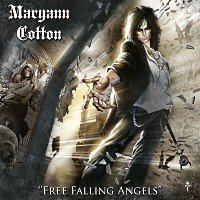 [Maryann Cotton Free Falling Angels Album Cover]