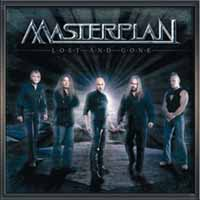 [Masterplan Lost and Gone EP Album Cover]