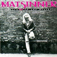 [Mat Sinner Back To The Bullet Album Cover]