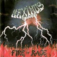 [Maximus Fire Of Rage Album Cover]