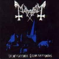 [Mayhem De Mysteriis Dom Sathanus Album Cover]