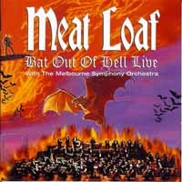 [Meat Loaf Bat Out of Hell Live Album Cover]