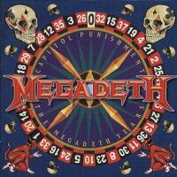 [Megadeth Capitol Punishment: The Megadeth Years Album Cover]