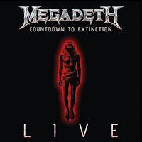 [Megadeth Countdown To Extinction LIVE Album Cover]