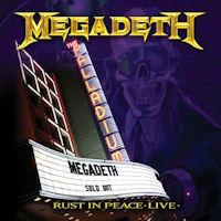 [Megadeth Rust In Peace Live Album Cover]