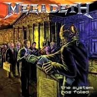 [Megadeth The System Has Failed Album Cover]