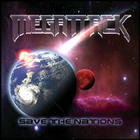 [Megattack Save The Nations Album Cover]