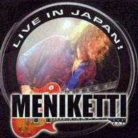 [Meniketti Live In Japan Album Cover]