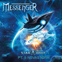 [Messenger Star Wolf Part II: Novastorm Album Cover]