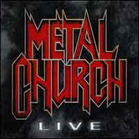 [Metal Church Live Album Cover]
