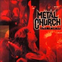 [Metal Church Live in Japan Album Cover]