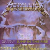 [Metallica Creeping Death/Jump in the Fire Album Cover]