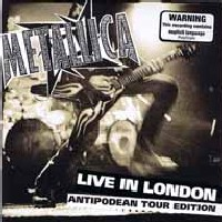 [Metallica Live in London Album Cover]