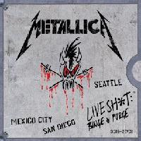 [Metallica Live Shit: Binge And Purge Album Cover]