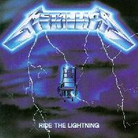 [Metallica Ride The Lightning Album Cover]