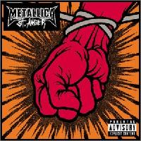 [Metallica St. Anger Album Cover]