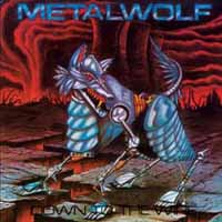 [Metalwolf Down to the Wire Album Cover]
