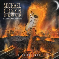 [Michael Cosyn Group Burn the Earth Album Cover]