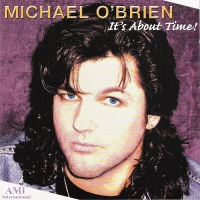 Michael O'brien It's About Time Album Cover