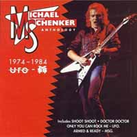 [Michael Schenker Anthology 1974 - 1984 UFO - MSG Album Cover]