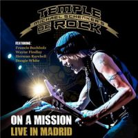 [Michael Schenker On a Mission - Live in Madrid Album Cover]