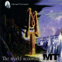 [Michael Thompson The World According to M.T. Album Cover]