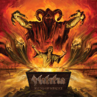 Militia Fiend of Misery Album Cover