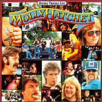 [Molly Hatchet Double Trouble Live Album Cover]