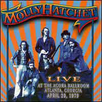 [Molly Hatchet Live at the Agora Ballroom Album Cover]