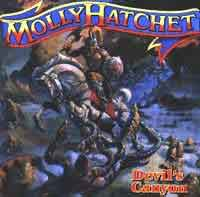 [Molly Hatchet Devil's Canyon Album Cover]