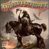 [Molly Hatchet Molly Hatchet Album Cover]