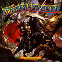 [Molly Hatchet Lightning Strikes Twice Album Cover]