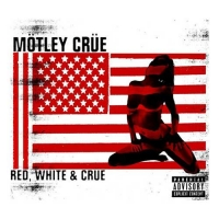 [Motley Crue Red, White and Crue Album Cover]