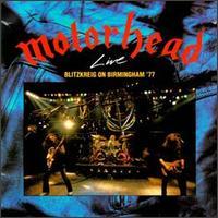 [Motorhead Live - Blitzkreig on Birmingham '77 Album Cover]