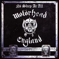 [Motorhead No Sleep At All Album Cover]