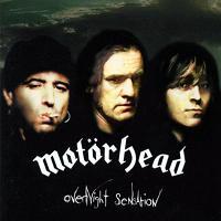 [Motorhead Overnight Sensation Album Cover]