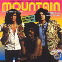 [Mountain King Biscuit - Greatest Hits Live Album Cover]