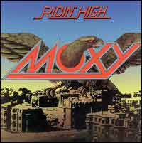 [Moxy Ridin' High Album Cover]