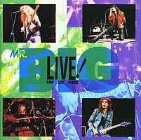 [Mr. Big Live! Raw Like Sushi Album Cover]
