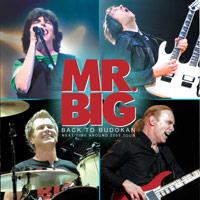 [Mr. Big Back To Budokan Album Cover]