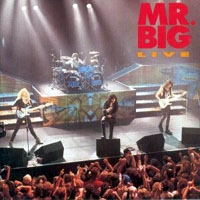 [Mr. Big Live Album Cover]