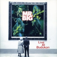 [Mr. Big Live at Budokan Album Cover]