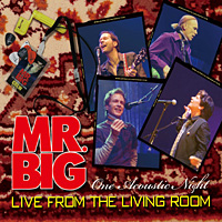 [Mr. Big Live from the Living Room Album Cover]