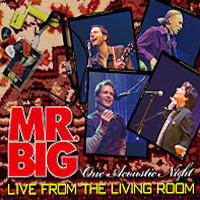 [Mr. Big Live From The Living Room - One Acoustic Night Album Cover]