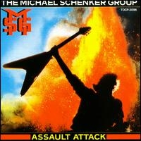 The Michael Schenker Group Assault Attack Album Cover